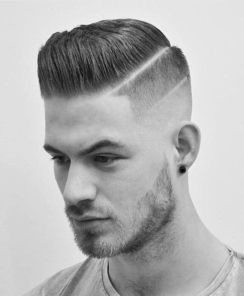 short sides long top haircut 31