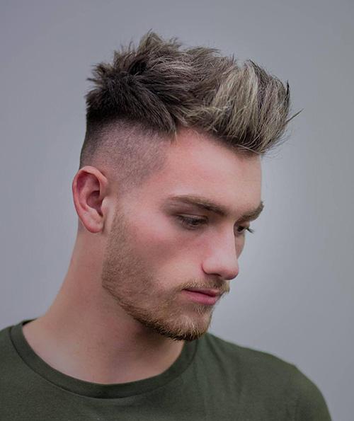 short sides long top haircut 32