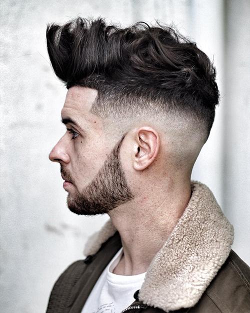 short sides long top haircut 46