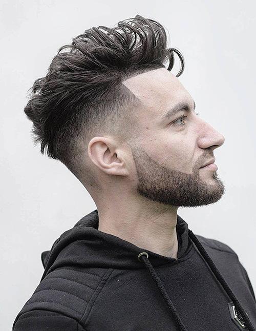 short sides long top haircut 47