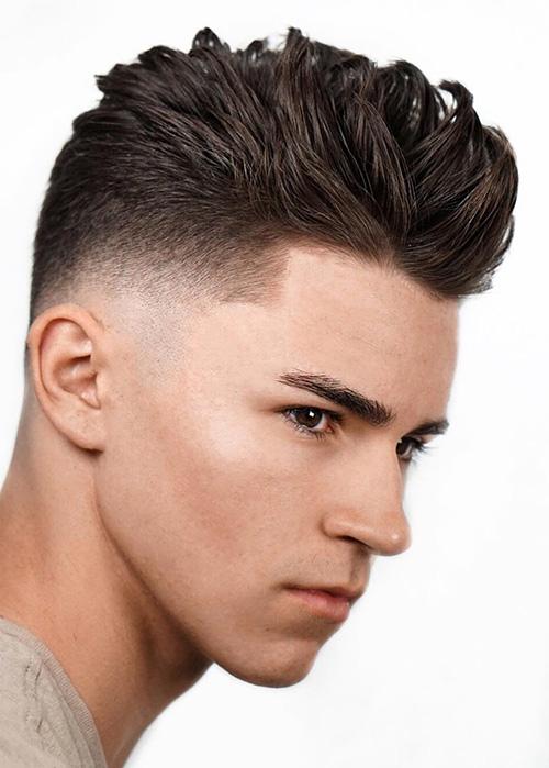 short sides long top haircut 57