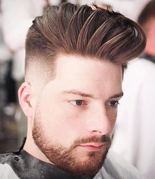 short sides long top haircut 8
