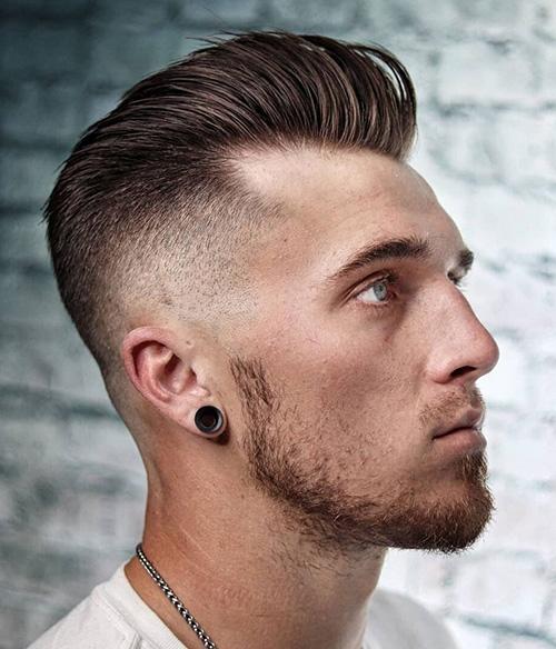 short sides long top haircut 9