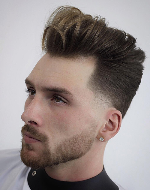temple fade haircuts 14