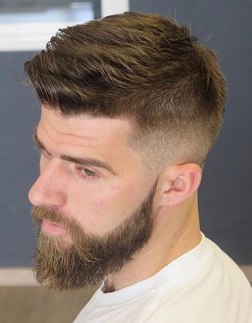mid fade haircut 1004