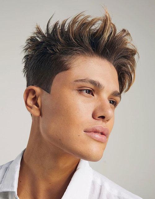 taper haircut 57