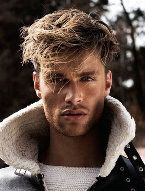blonde hairstyles for men 10