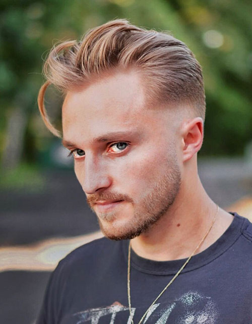 blonde hairstyles for men 14