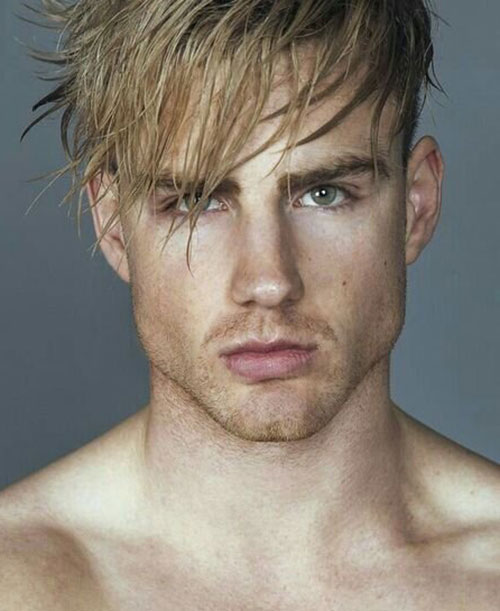 blonde hairstyles for men 2