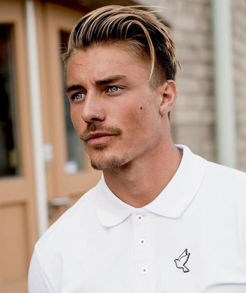 blonde hairstyles for men 25