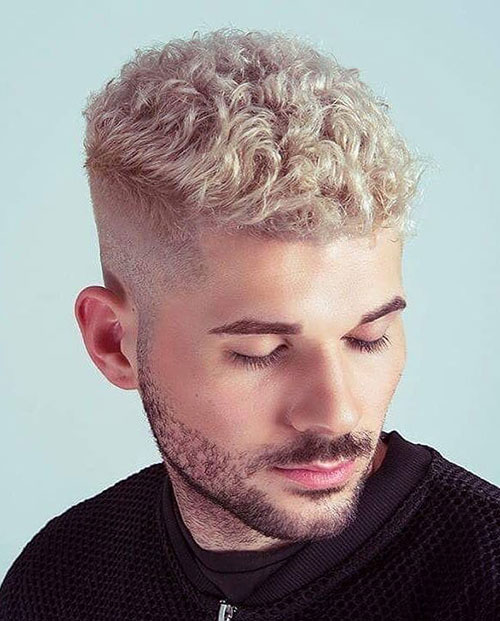 blonde hairstyles for men 50