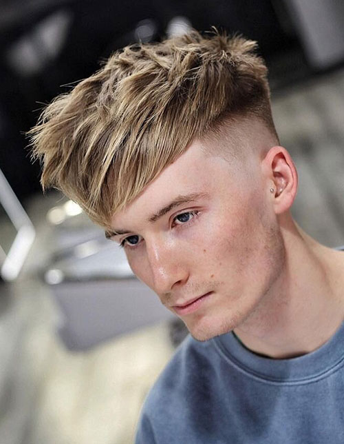 blonde hairstyles for men 60