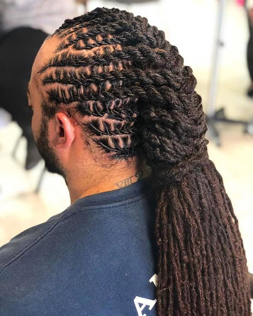 dreadlock styles for men 30