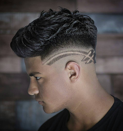 haircuts for men with round faces 100