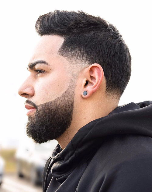 haircuts for men with round faces 16