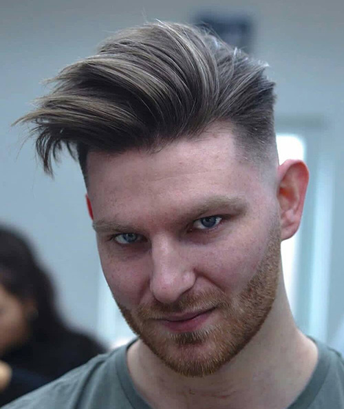 haircuts for men with round faces 17