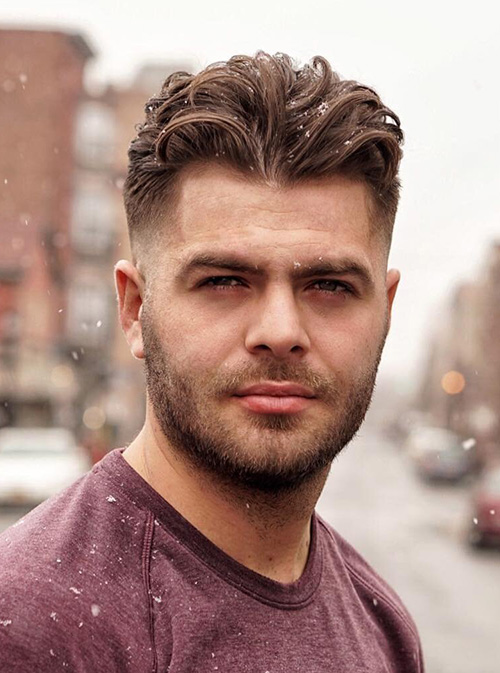 haircuts for men with round faces 2