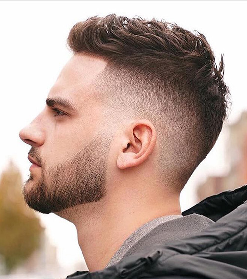 haircuts for men with round faces 21