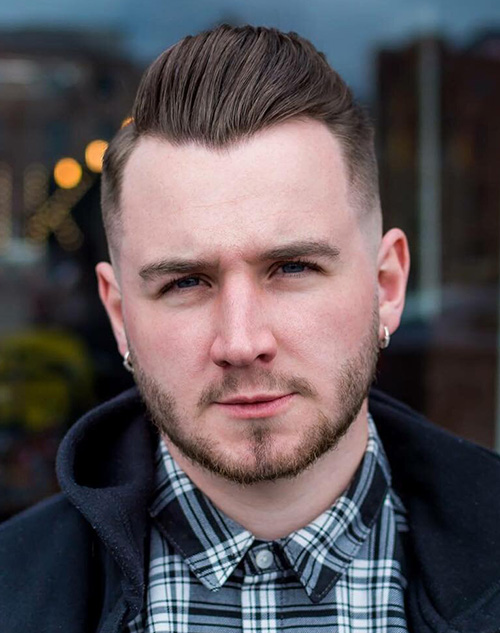 haircuts for men with round faces 24