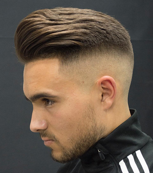 haircuts for men with round faces 35