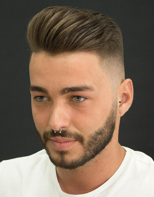 haircuts for men with round faces 36