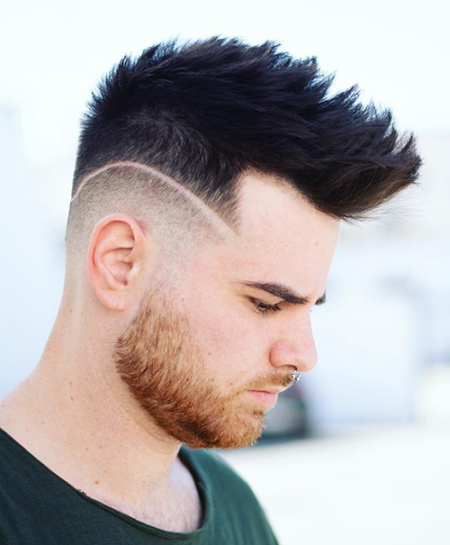 haircuts for men with round faces 37