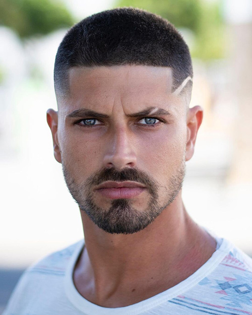 haircuts for men with round faces 38