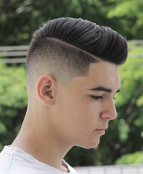 haircuts for men with round faces 44