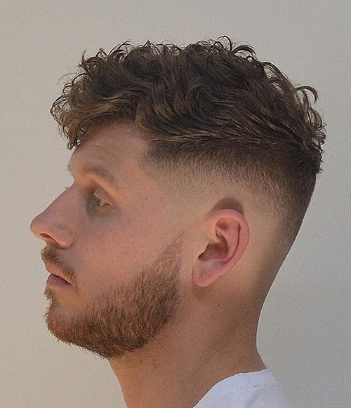 haircuts for men with round faces 49