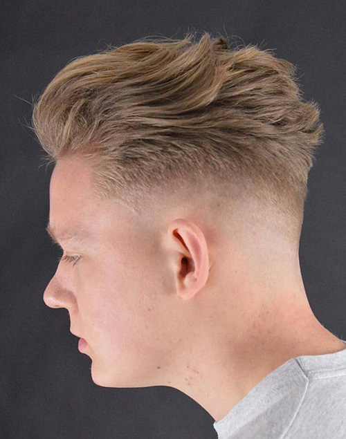 haircuts for men with round faces 56