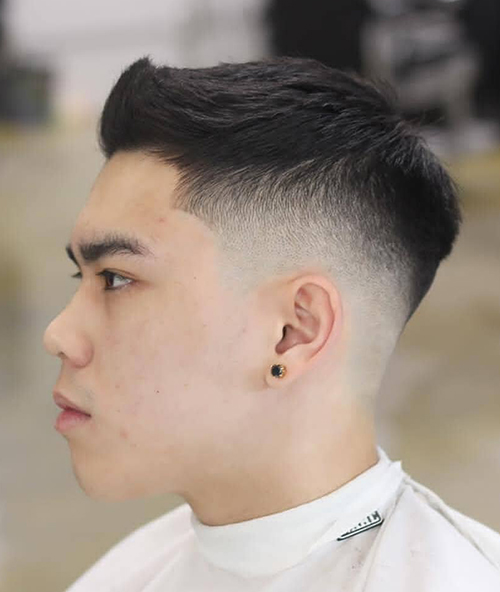 haircuts for men with round faces 58