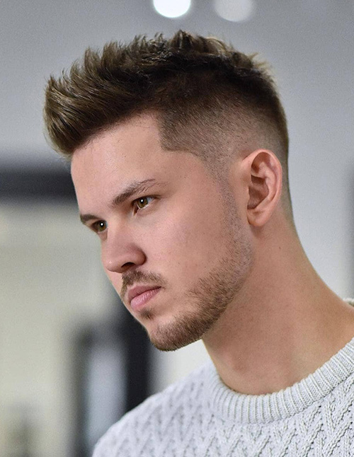 haircuts for men with round faces 61