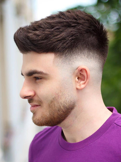 haircuts for men with round faces 63