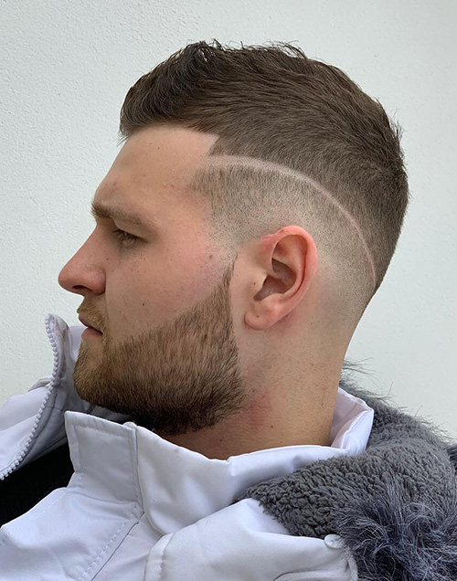 haircuts for men with round faces 71