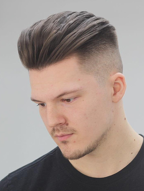 haircuts for men with round faces 8