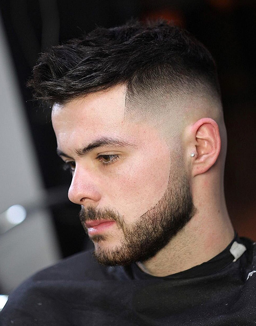 haircuts for men with round faces 82