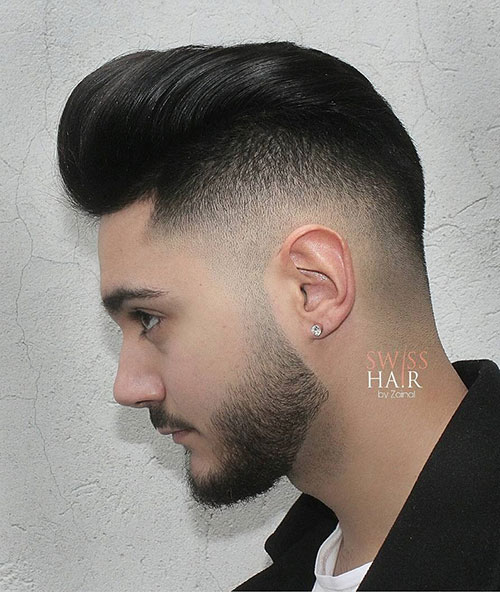 haircuts for men with round faces 84