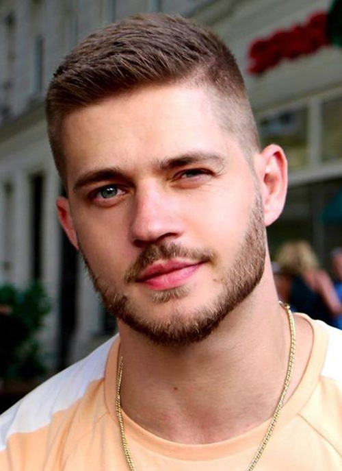haircuts for men with round faces 86