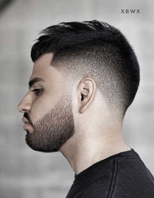 haircuts for men with round faces 88