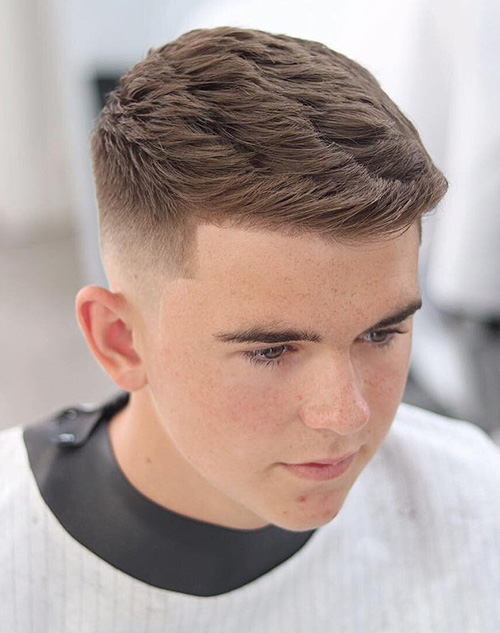haircuts for men with round faces 9