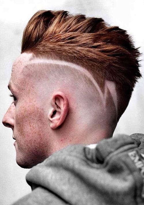 mohawk fade haircut 13