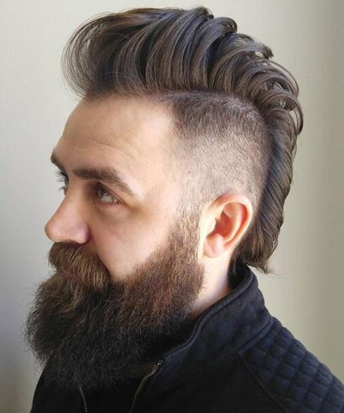 mohawk fade haircut 14
