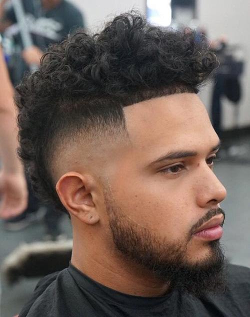 mohawk fade haircut 18