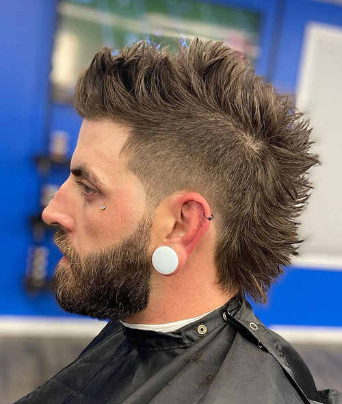 mohawk fade haircut 19