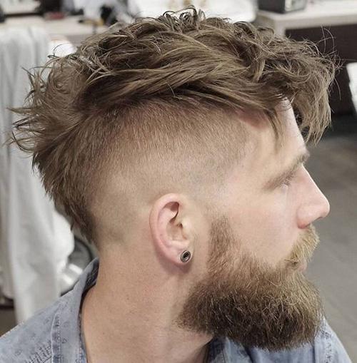 mohawk fade haircut 2