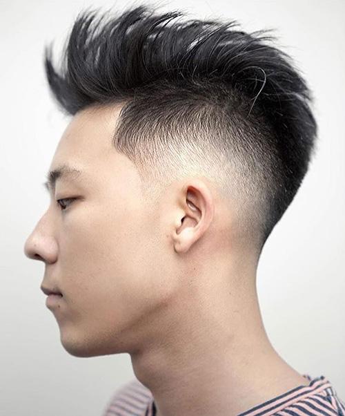 mohawk fade haircut 21