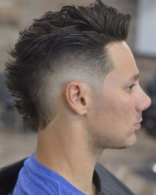mohawk fade haircut 29