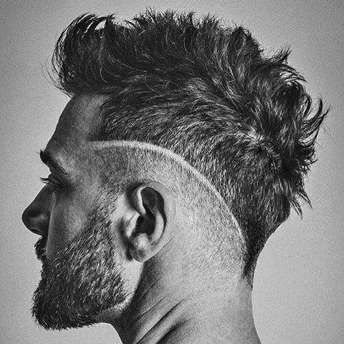 mohawk fade haircut 36