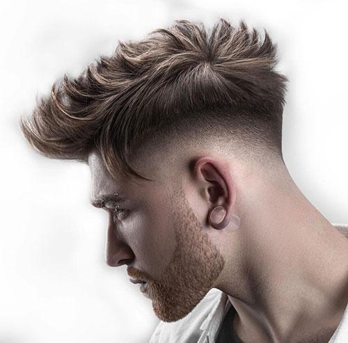 mohawk fade haircut 43