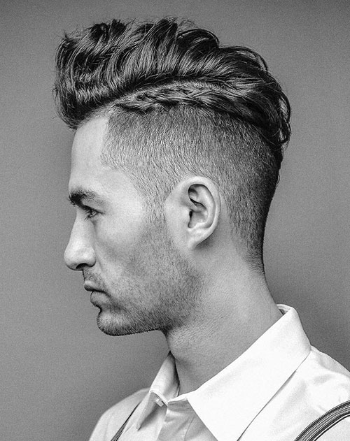 mohawk fade haircut 44